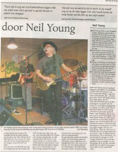 Gerry Wolthof Neil Young Mirror Band gelderlander