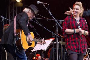 Gerry Wolthof en Marianne Veendam gitaar blues