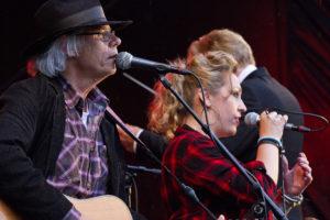 Gerry Wolthof en Marianne Veendam Blues optreden